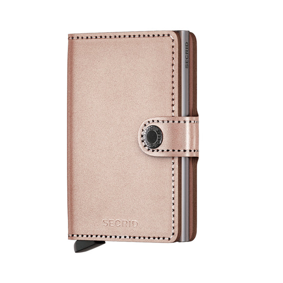 Secrid Miniwallet - Metallic Rose