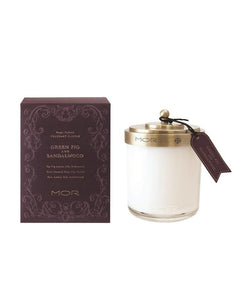 Green Fig & Sandalwood Soy Candle