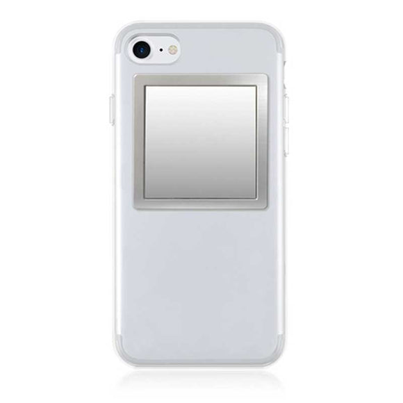 iDecoz Phone Mirror - Square Silver