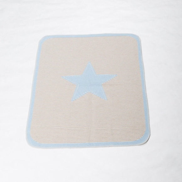 Juwel Big Star Throw in Light Blue
