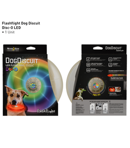 LED Flying Dog Discuit