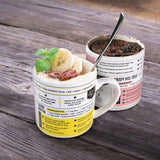 Microwave Recipe Mugs (Set of 4)