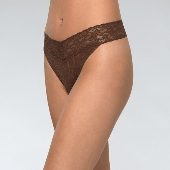 Hanky Panky Original Rise Thong - Dutch Chocolate