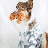 Croissant Dog toy