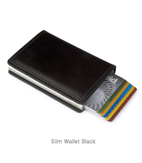 Secrid RFID Blocking Slimwallet - Original Black
