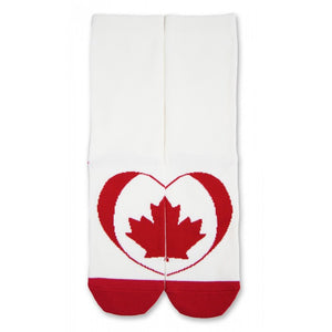Maple Leaf Puzzle Sock for Women