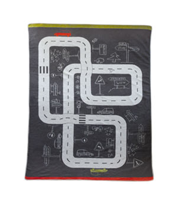 Road Track Blanket with Cover
