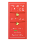 Bacon to My Eggs Necklace Set