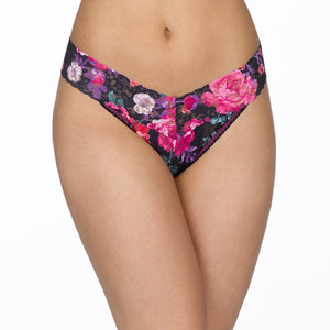 Hanky Panky Low Rise Thong - Bloom