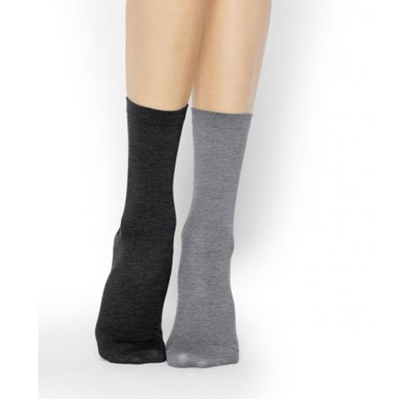 Basic Cotton Socks (Pack of 2)