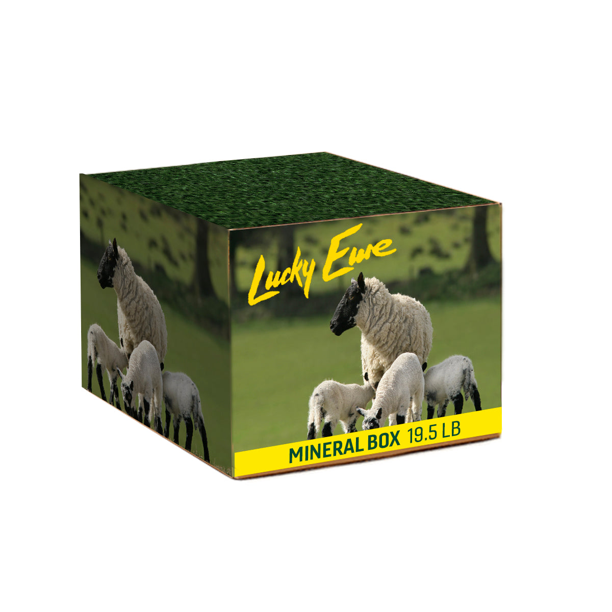 Lucky Ewe Mineral 19.5 lb Box