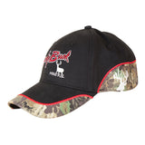 Lucky Buck Cap with Red Trim