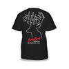 Lucky Buck Black T-Shirt with Amish Lucky Buck Screen Print