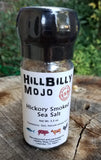 Hickory Smoked Salt GRINDER by Hillbilly Mojo
