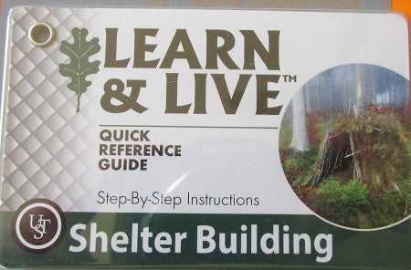 Shelter Building Cards