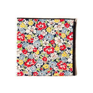 TWEEDS Multi-Color Floral Pocket Square
