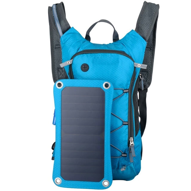 Outdoor Camping 6.5W Solar Panel Backpack