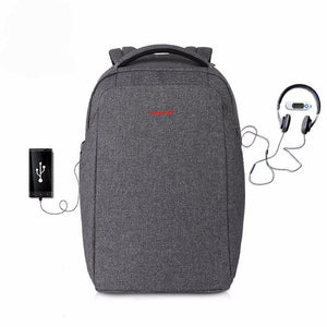 "Laptop Backpack 15.6"" External Charging USB"