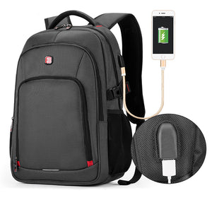 Backpack  15.6 inch External Charging USB Function