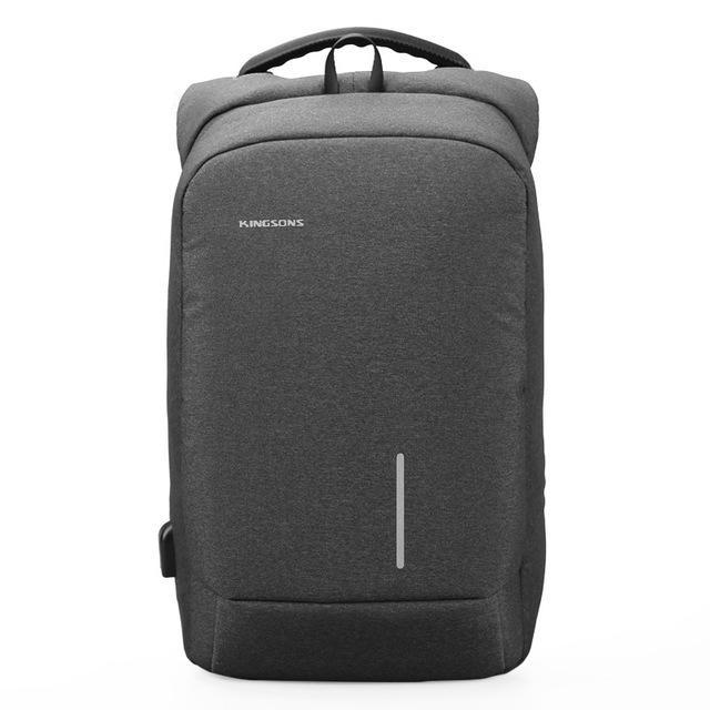15''  Laptop Backpack External USB Charge Anti-theft