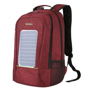 Backpacks Solar Charging Anti-theft