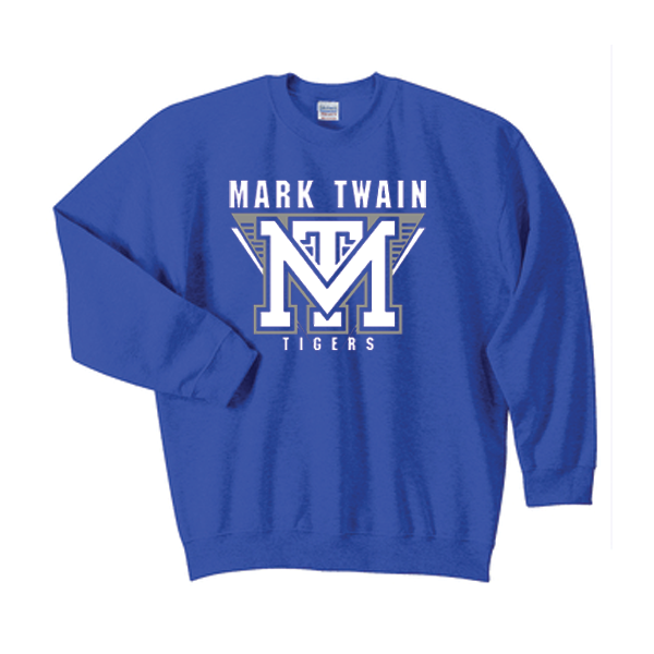 Crewneck Royal Blue Mark Twain