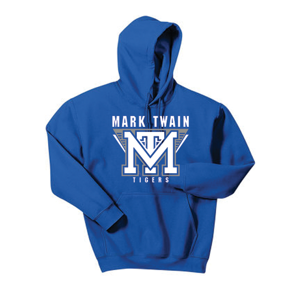 Hoodie Royal Blue Mark Twain
