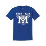 Royal Blue Mark Twain 50/50 T-Shirt