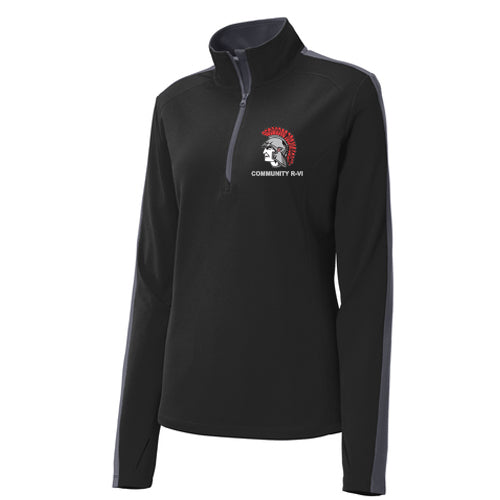 Community R-VI Women's 1/4 Zip Pullover