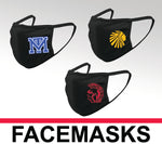 FACEMASK WITH SCHOOL LOGO