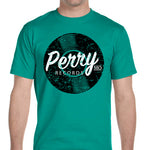 Perry Mo Records T-Shirt - Jade