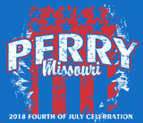 PERRY 4TH OF JULY 2018 T-SHIRT - ROYAL