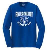 LONG SLEEVE T-SHIRT - RALLS CO. ELEMENTARY