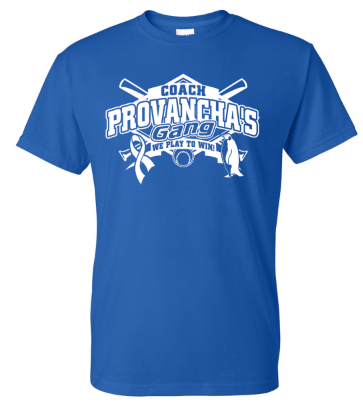 COACH PROVANCHA FUNDRAISER T-SHIRT