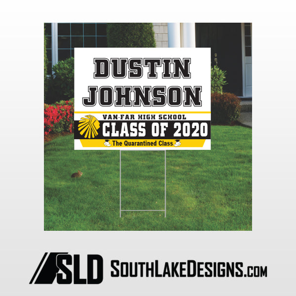 VAN-FAR CLASS OF 2020 PERSONALIZED YARD SIGN