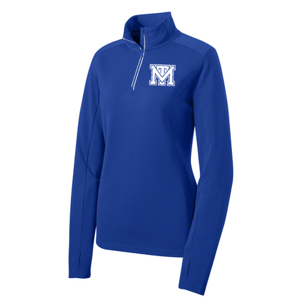 Mark Twain Tigers Women's 1/4 Zip Pullover
