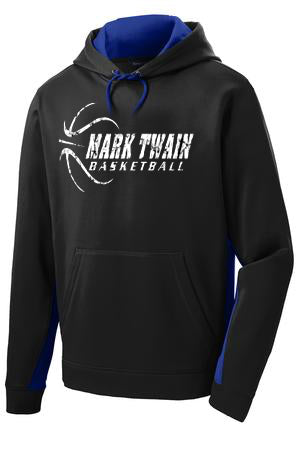 Mark Twain Basketball Performance Hooded Sweatshirt