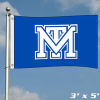 "Mark Twain Tigers 3' x 5' Blue ""MT"" Flag"