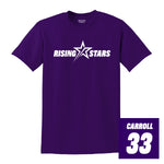 RISING STARS 50/50 PERSONALIZED T-SHIRT