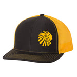 VAN-FAR BLACK/GOLD SNAPBACK TRUCKER CAP