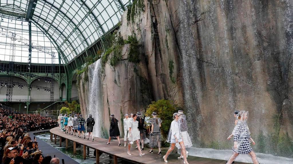 Chanel Water Fall Show