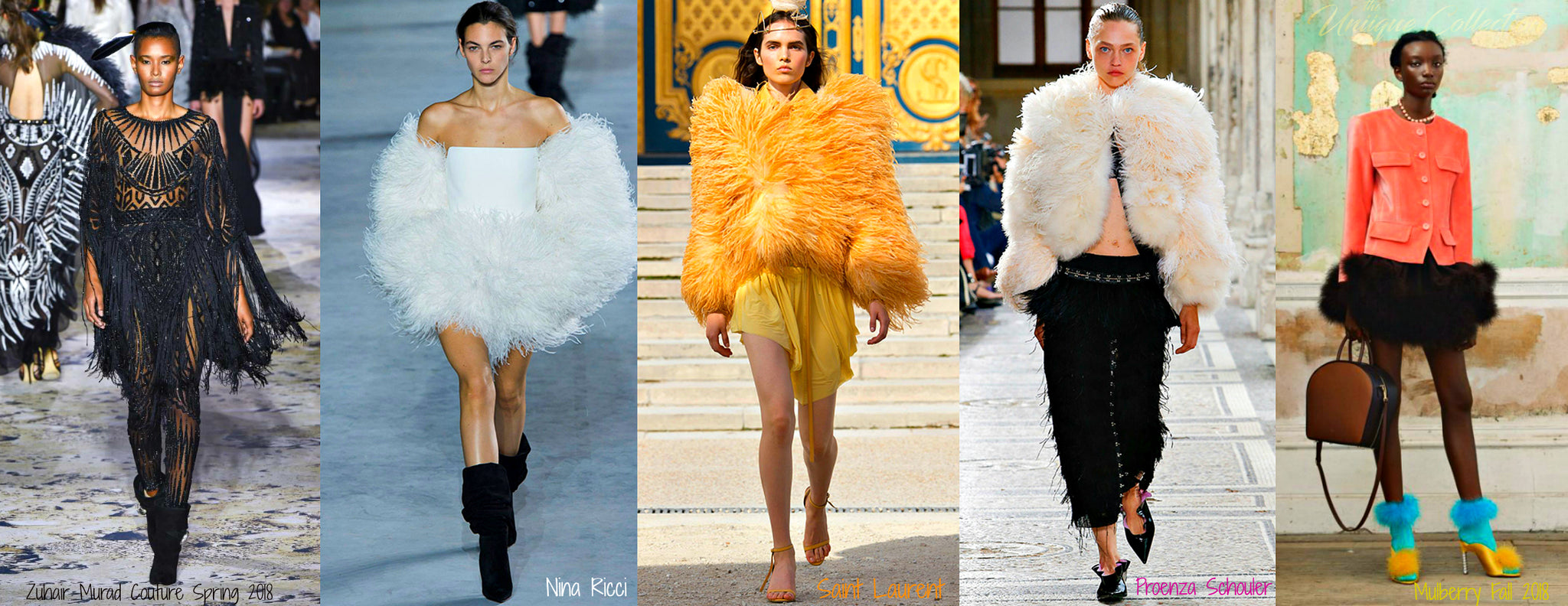 summer 2018 fashion trends feathers