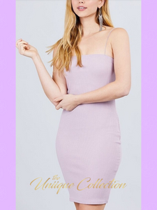 STASSIE RIBBED DRESS