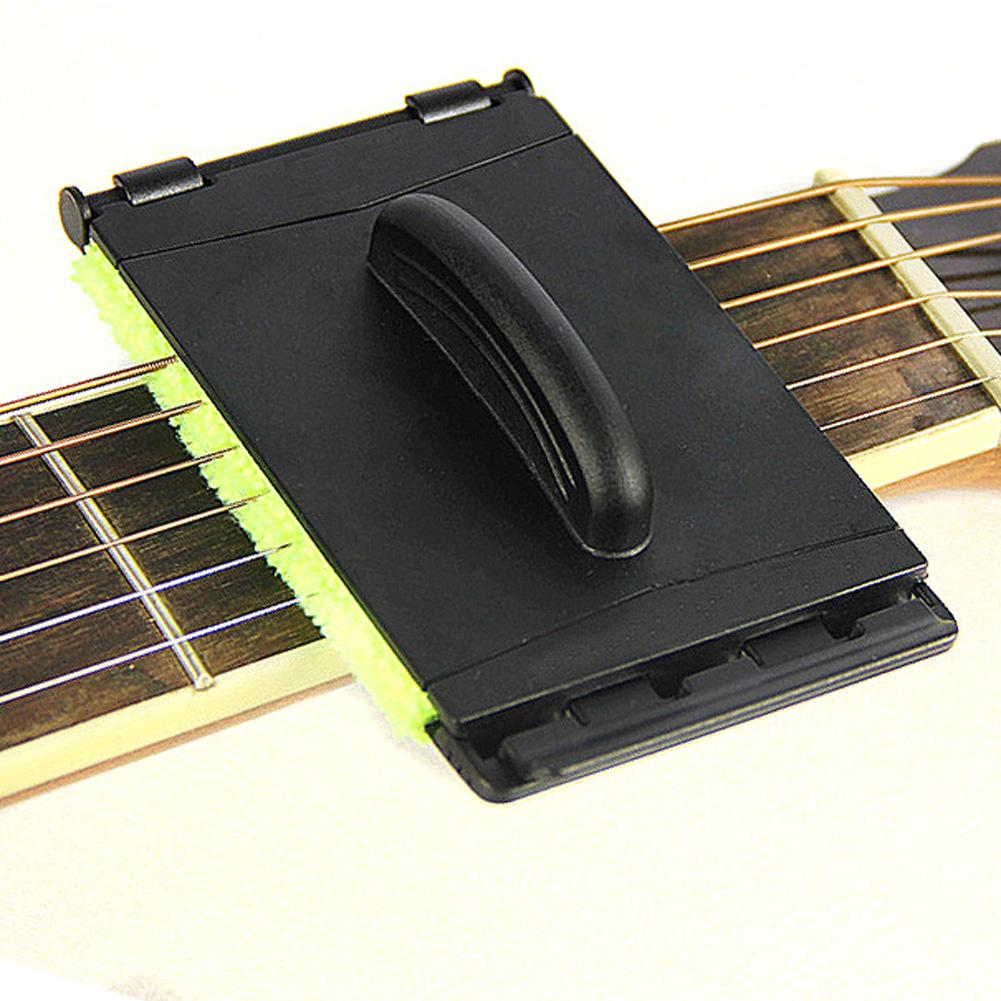Stringed Instruments Musical Instruments New 1 Pcs Electric Guitar Bass Strings Scrubber Fingerboard Rub Cleaning Tool Maintenance Care Bass Cleaner Guitar Accessories