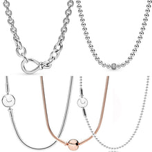 WEEKLY DEAL - Sterling Silver Beads & Pave Chunky Infinity Knot Sphere Clasp Essence Necklace