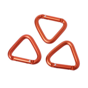WEEKLY DEAL - 1pc/3pcs/5pcs Triangle Carabiner