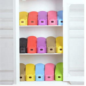WEEKLY DEAL - Fashion Shoe Racks Modern Double Cleaning Storage Shoes Rack