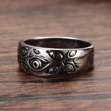 WEEKLY DEAL - Retro Monster Gothic Eyes Ring Jewelry
