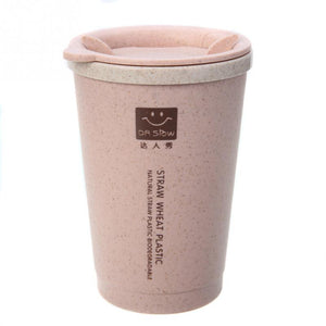 WEEKLY DEAL - Wheat Fiber Straw Coffee Cup