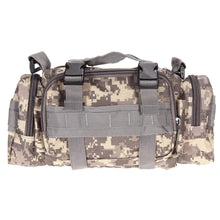 WEEKLY DEAL - 3L/6L Outdoor Military Tactical Waist Bag Waterproof Nylon